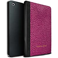 stuff4PU Book /カバーケースfor Apple iPad Mini 1/ 2/ 3タブレット/オリーブブラックモノグラム/カスタムレザーEffe MR-IPM-TSBS-MD-LTHRDIY-PKS