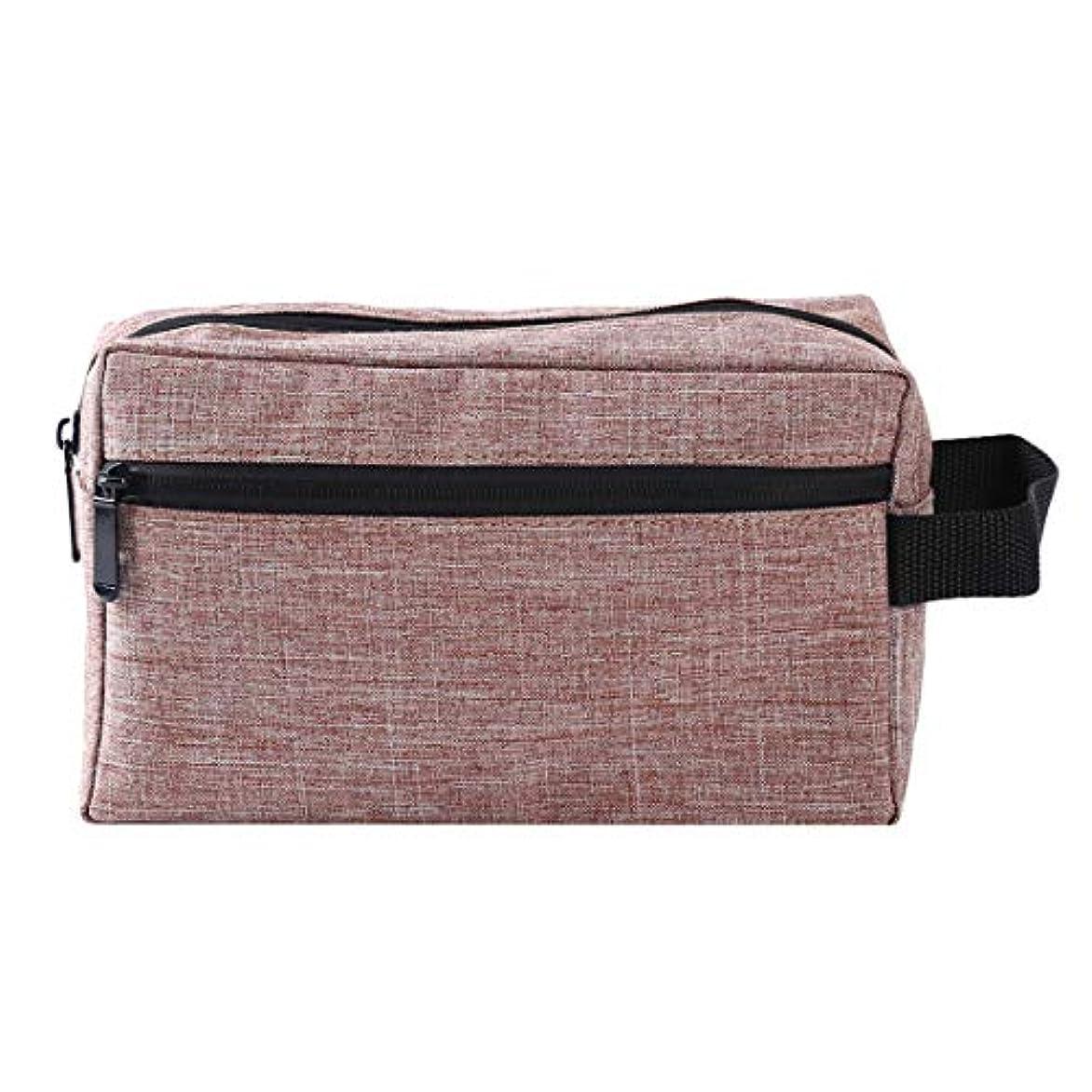 三角褐色タオルKLUMA 化粧ポーチ メイクポーチ コスメポーチ 化粧品収納バッグ 洗面用具入れ 持ち運び便利 普段使い 出張