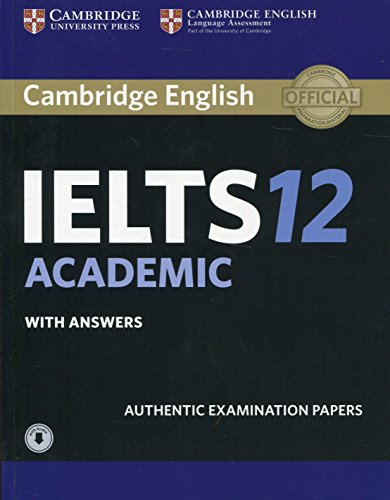 Cambridge IELTS 12 Academic Student's Book with Answers with Audio: Authentic Examination Papers (IELTS Practice Tests)の画像