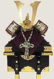 五月人形 兜飾り 18号彫金栄華兜のみ櫃付長鍬形