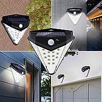 Galapara センサーライト ソーラーライト 32 LED 菱形 屋外 人感センサー 太陽光 IP44防水 防犯ライト ledライト 玄関/軒先/駐車場/庭先