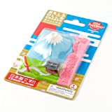 おもしろけしごむ富士山と神社春Japan motif eraser