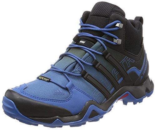 [Adidas] トレッキングシューズ Terrex Swift R Mid Gtx IOT09 コアブルー S17/コアブラック/チョークホワイト 27.5 cm