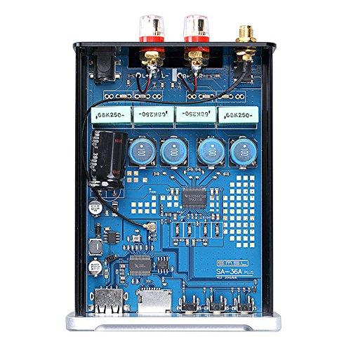 Gemtune SMSL SA-36A PLUS SA-36A プラス デジタルアンプ Bulebooh USB入力 30W*2 ブラック
