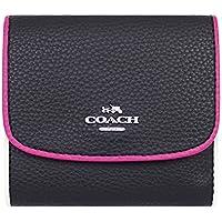 [コーチ] COACH 財布 (三つ折り財布) F11824 ブラックマルチ SV/M2 レザー 三つ折り財布 レディース [アウトレット品] [並行輸入品]