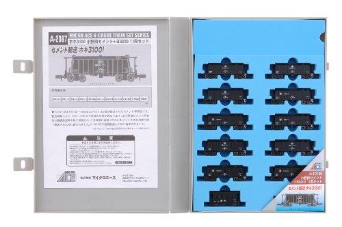Nゲージ A2087 ホキ3100小野田セメント+ヨ5000 11両セット