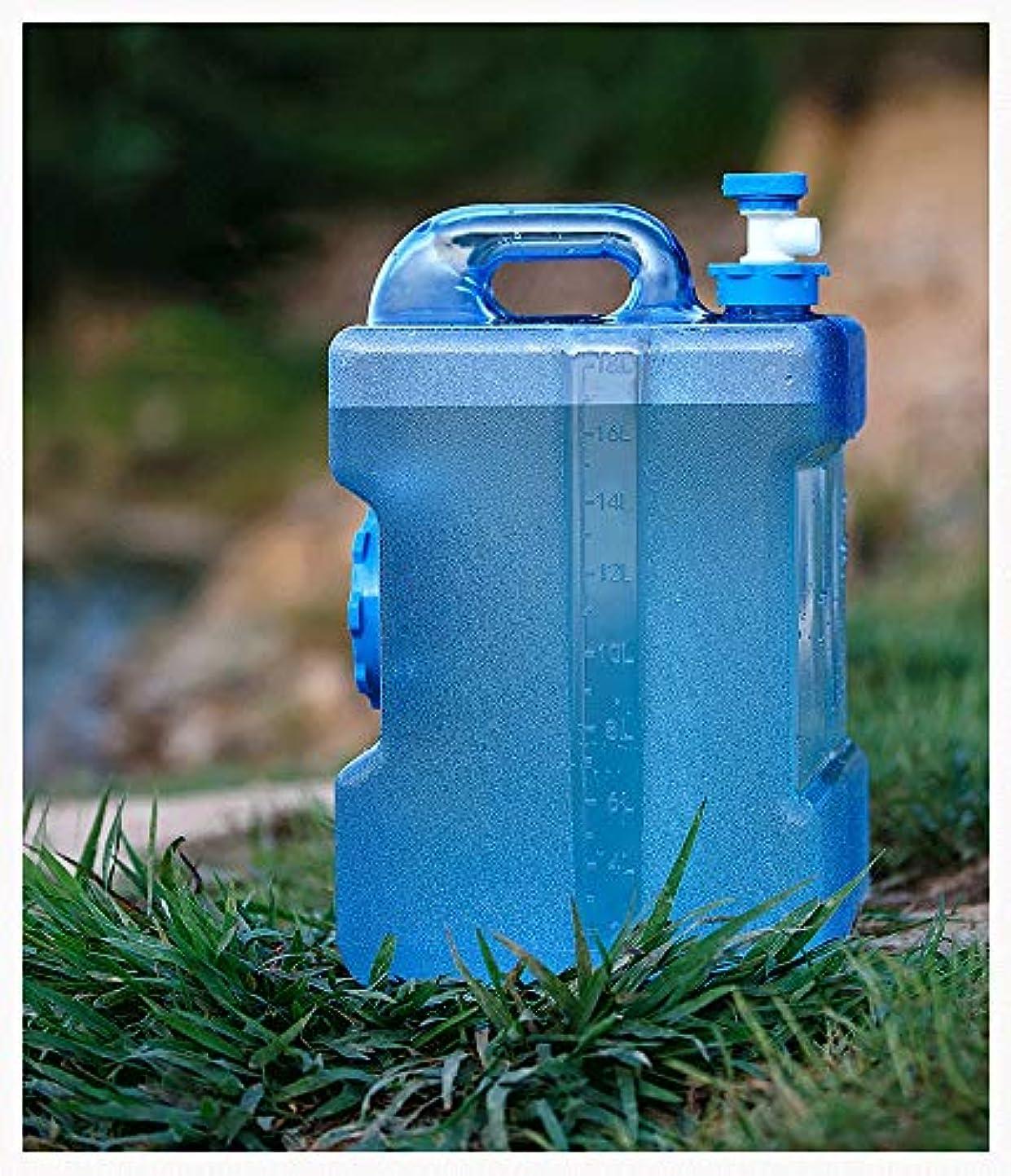 ライラックなだめる電球飲料水用容器、水道水栓のバケツ、PEプラスチック、貯水池のキャンプに最適屋外ピクニックカーの遠征、PEプラスチック、12L 19L 24リットル (Size : 12L/3.2Gal)