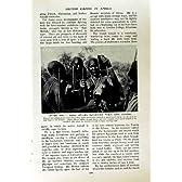 C1920 マサイ族の女性の女性アフリカ御曹司の人の戦士