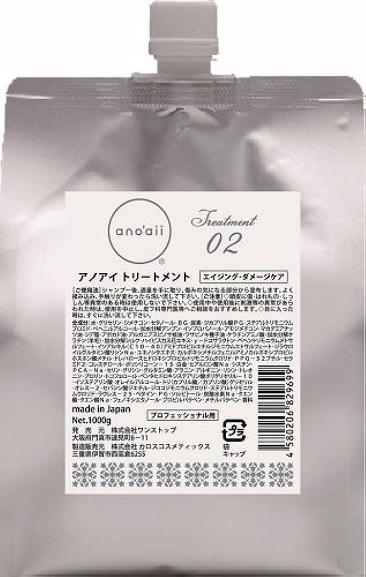 委員会母音画面アノアイ(anoaii) エイジングダメージケアトリートメント 1000g レフィル