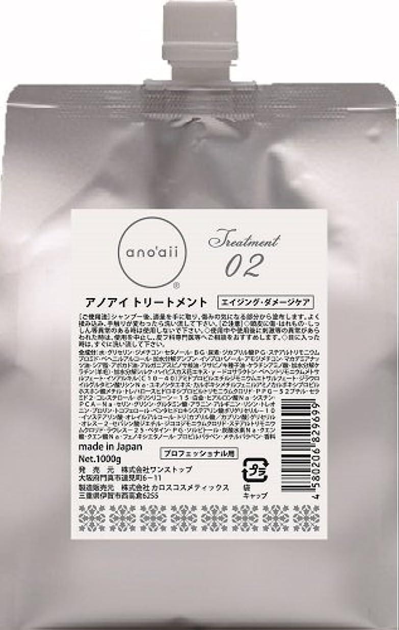 正確な薄める複製するアノアイ(anoaii) エイジングダメージケアトリートメント 1000g レフィル