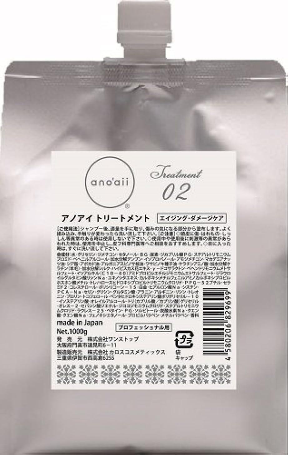 税金特許パターンアノアイ(anoaii) エイジングダメージケアトリートメント 1000g レフィル
