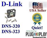 超冷却 静音ファン DNS-320 DNS-323用 低騒音 ホームネットワークに最適