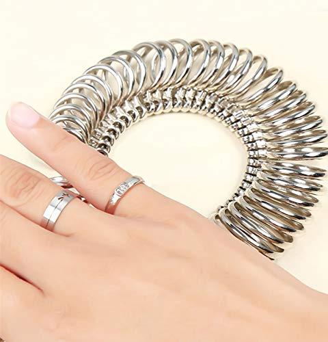 Calors Vitton 日本標準規格 1号-28号対応 リングゲージ プロ仕様 指輪 ゲージ 指 の サイズ 号数 を測れる 指の太さをはかる リング サイズゲージ ギフトプレゼント