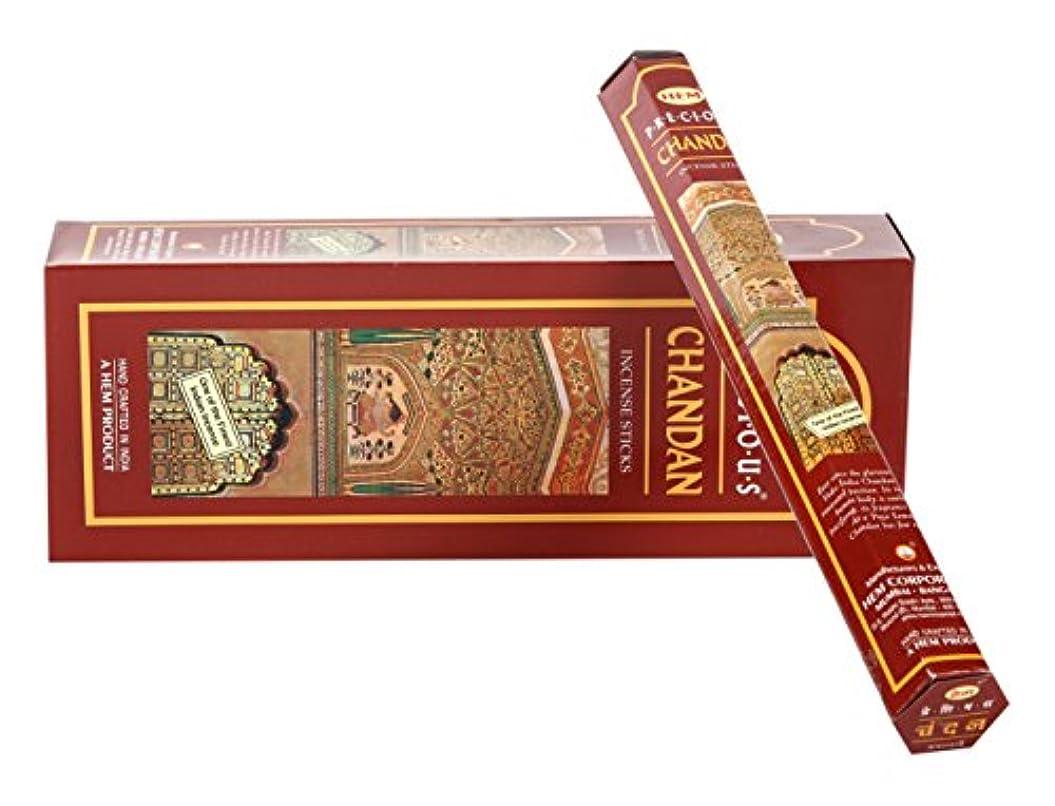 リス共和国ではごきげんようHEM六角香チャンダン6個セット