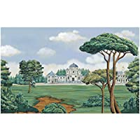 Mingld 西洋風景ツリー壁画壁紙用リビングルームソファ背景3D壁壁画壁紙ステッカー-200X140Cm
