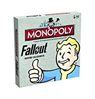Winning Moves 000659 - Table Monopoly Game - Fallout Collectors Edition Italian Version