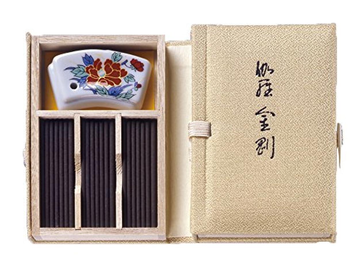 バッグ刺繍飲み込むNippon Kodo – Kyara Kongo – 選択したAloeswood Incense 60 Sticks