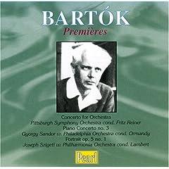 輸入盤 シャーンドル(P)・シゲティ(Vn)、オーマンディ指揮、ライナー指揮ほか バルトーク:ピアノ協奏曲第3番ほかのAmazonの商品頁を開く
