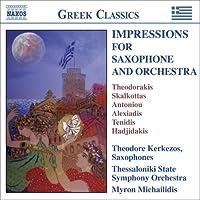 Works for Saxophone & Orchestra by THEODORAKIS / SKALKOTTAS (2006-11-21)