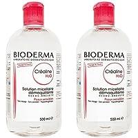 ビオデルマ(BIODERMA) サンシビオ H2O (エイチ ツーオー) D 500ml 2本セット [並行輸入品]