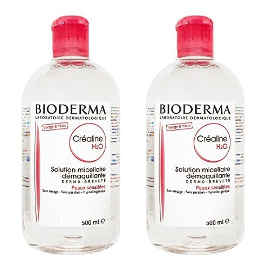 商品証言ストロークビオデルマ(BIODERMA) サンシビオ H2O (エイチ ツーオー) D 500ml 2本セット[並行輸入品]