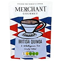 (Merchant Gourmet (商人のグルメ)) 英国のキノア250グラム (x6) - Merchant Gourmet British Quinoa 250g (Pack of 6) [並行輸入品]