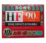 ソニー HF ノーマルポジション 10C-90HFA