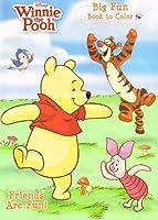 Disney Winnie the Pooh Fun Book to Colour Friends Are Fun