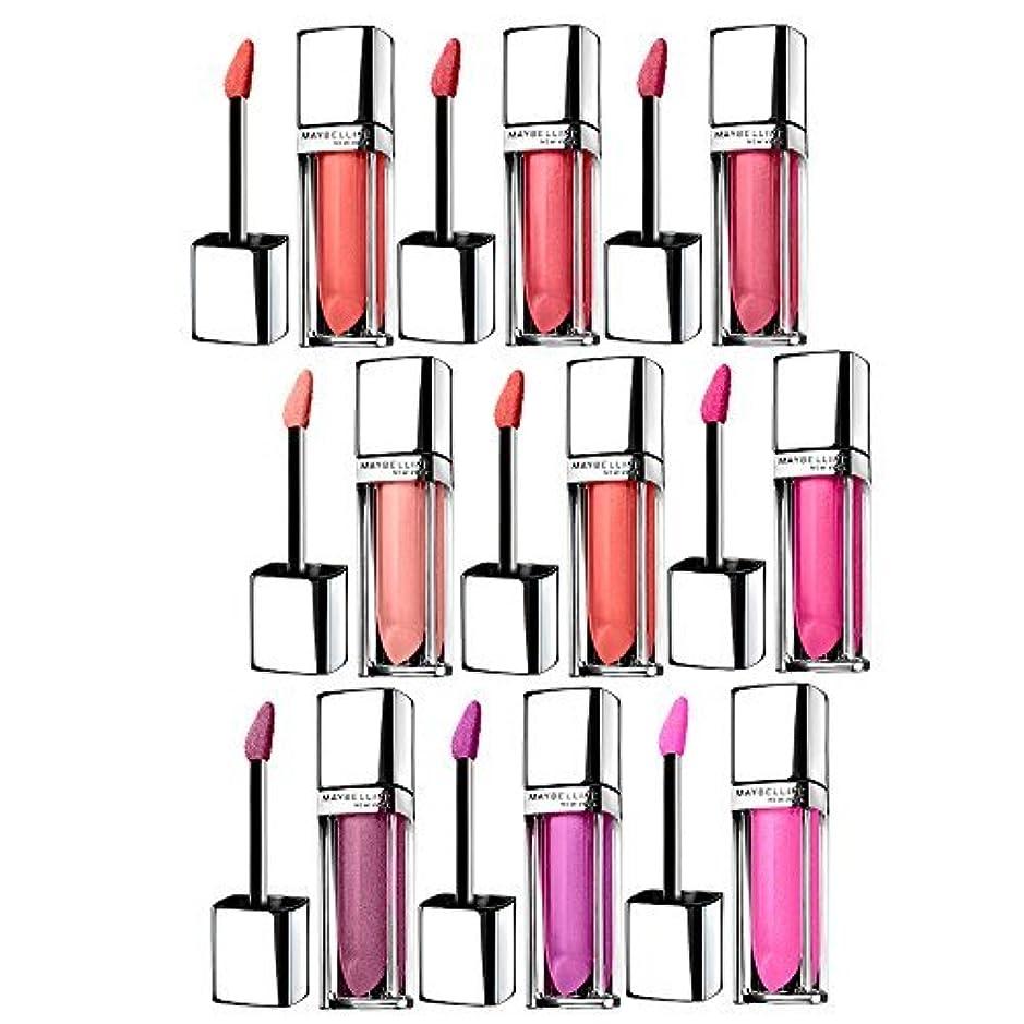 高潔な完全にミュウミュウMaybelline New York Color Sensational Color Elixir Set 9-Piece Lip Color Collection by Beauty Brags