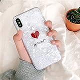 女性 人気 iPhonex アイフォンX ケース カバー 夏 心 ハート LOVE 英文字 きらきら お洒落 可愛い アイホンX ケース PODITAGI (iPhoneX, bi loved~)