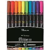 トンボ鉛筆 蛍光ペン 蛍コート80 10色 WA-SC10C