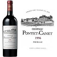 1996 シャトー ポンテ カネ 赤ワイン辛口フルボディ750ml Ch PONTET CANET 1996