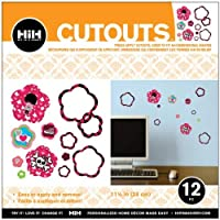 Hip In a Hurry 3D Decor Cut Outs 13 Inch -Girl Skulls #2 [並行輸入品]