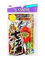 ささめ針(SASAME) うきうき堤防太刀魚 水平4点ワイヤー仕様 L W-667.