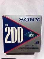 Sony mfd-2dd XTシリーズEnhancedパフォーマンス3.5インチMicro Floppyダブル密度ディスク10パック