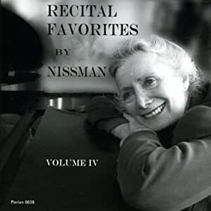 Recital Favorites By Nissman Vol. IV