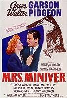 Mrs Miniverムービーポスター11x 17 Unframed 198708