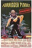 映画ポスター 禁断の惑星 ロビーザロボット Forbidden Planet /インテリア アート おしゃれ /50周年記念 片面 【数量限定・初版】