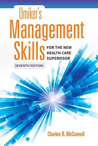 Download Umiker's Management Skills for the New Health Care Supervisor 1284121321