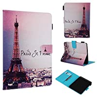 Abtory Folio Flip Premium PU Leather Case Cover w/Card Holder Slot Pockets Magnetic Closure for 2019 New Kindle 658 Tower
