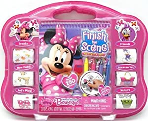 Tara Toy Minnie Finish The Sticker Scene Activity by Tara Toy TOY ドール 人形 フィギュア(並行輸入)