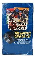 プロセット 1990 ホッケー 氷上で最もホットなカード 写真・スタットカード15枚とカード1枚