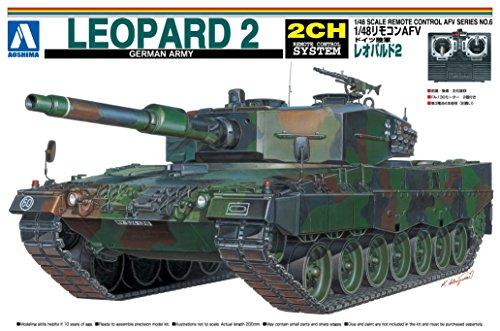 1/48 リモコンAFV No.06 ドイツ陸軍レオパルド2