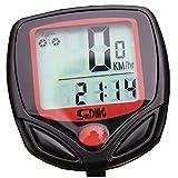 多機能自転車速度計とワイヤレス防水サイクルバイクコンピュータ走行距離計とデジタルLED表示