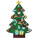 DIY Felt Christmas Tree Craft Education Ornament Kit Decoration for Children Kids, Felt Christmas Tree for Kids,Christmas Cra