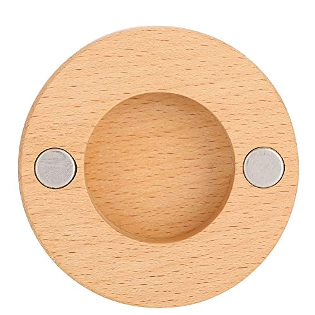 商人宿題をするスロットヘアドライヤーノズルブラケット、ネジと接着剤が付いているブナの木の壁の台紙のホールダーは用具を浴室をきれいに保ちます、ドライヤーのダイソンのための付属品の付属品