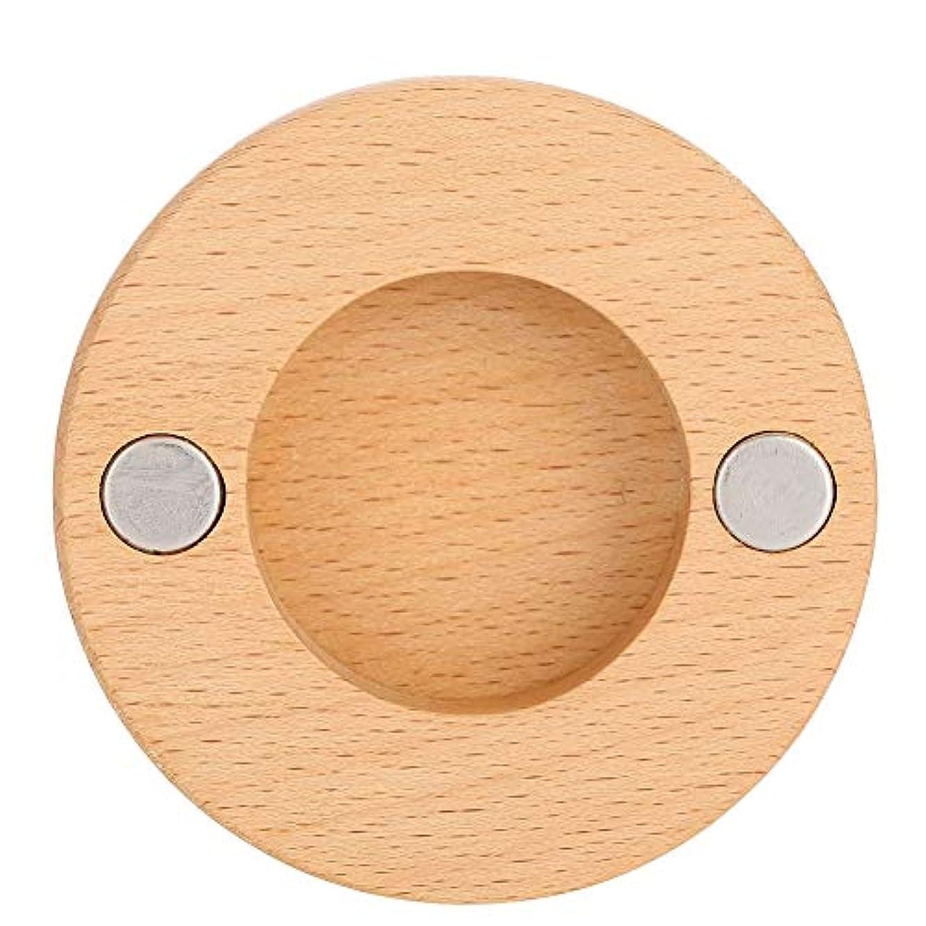 重要分布ギャンブルヘアドライヤーノズルブラケット、ネジと接着剤が付いているブナの木の壁の台紙のホールダーは用具を浴室をきれいに保ちます、ドライヤーのダイソンのための付属品の付属品