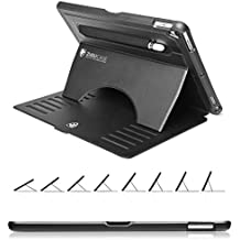 ZUGU CASE - 2019 iPad Air 10.5/2017 iPad Pro 10.5 Inch Case Prodigy X - Very Protective but Thin with Convenient Magnetic Stand with Sleep/Wake Cover (Black)