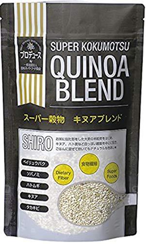 OSKスーパー穀物キヌアブレンド〈SHIRO〉300g