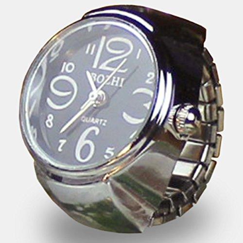 ZooooM 指輪 時計 指 コンパクト ファッション アク...